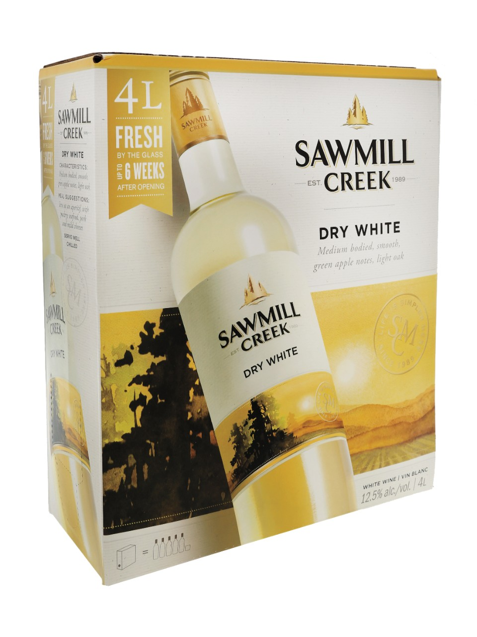 Image for Sawmill Creek Dry White from LCBO