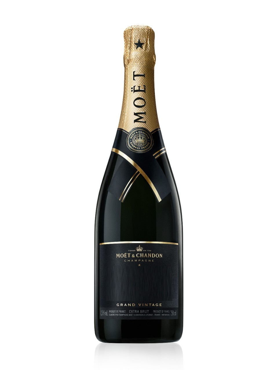 Image for Moët & Chandon Grand Vintage Extra Brut Champagne 2009 from LCBO