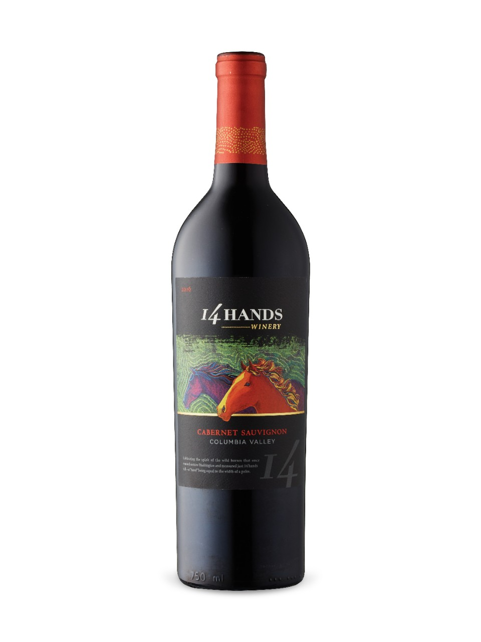 Image for 14 Hands Winery Cabernet Sauvignon 2016 from LCBO