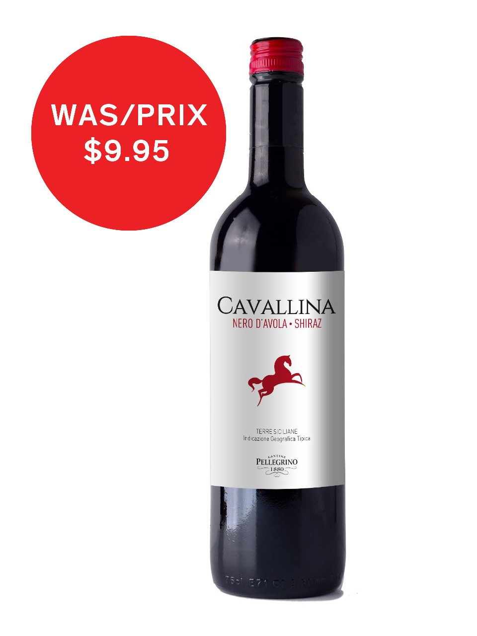 Image for Cavallina Nero D'Avola Shz Terre Sicilane IGT from LCBO