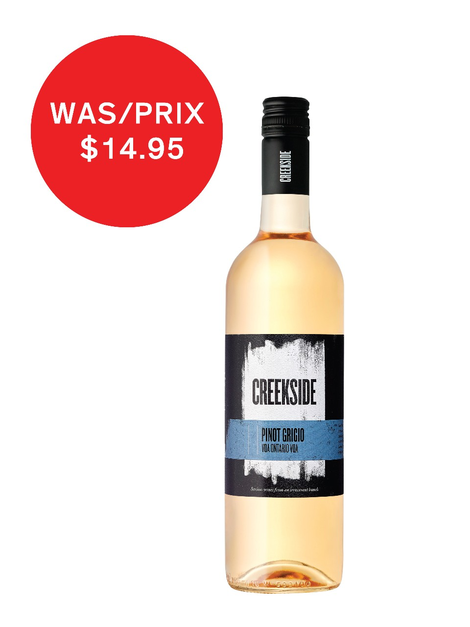Creekside Pinot Grigio VQA from LCBO