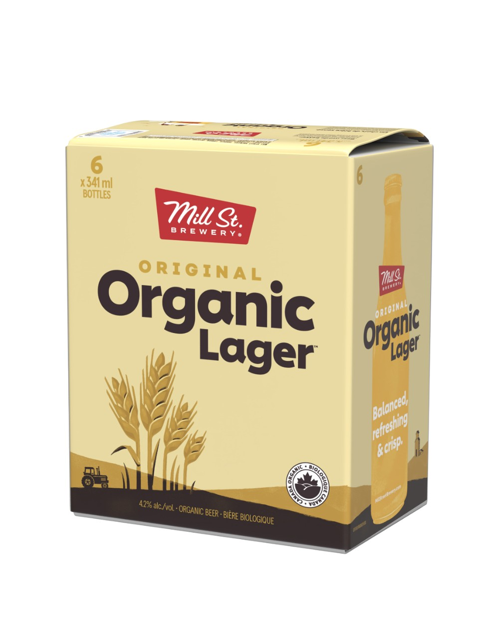 Image for Mill Street Original Organic Lager from LCBO