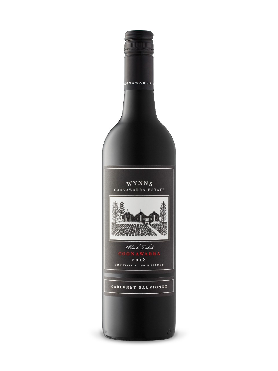 Cabernet Sauvignon Black Label Coonawarra Estate Wynns 2014