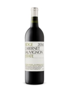Ridge Vineyards Estate Cabernet Sauvignon 2016