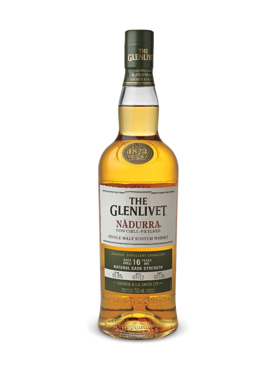 The Glenlivet Nadurra Aged 16 Years Scotch Whisky