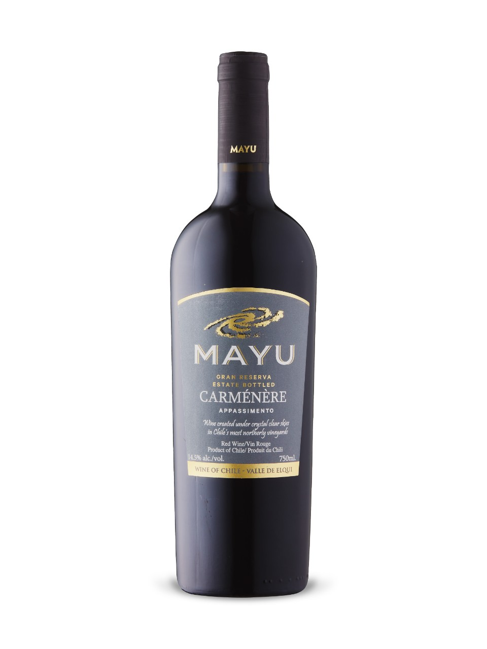 Image for Mayu Gran Reserva Carmenère 2015 from LCBO