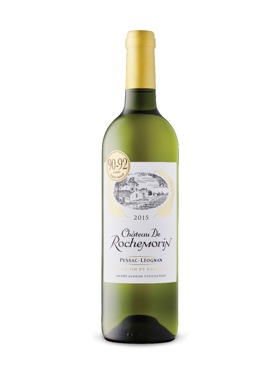 Image for Château de Rochemorin Blanc 2015 from LCBO