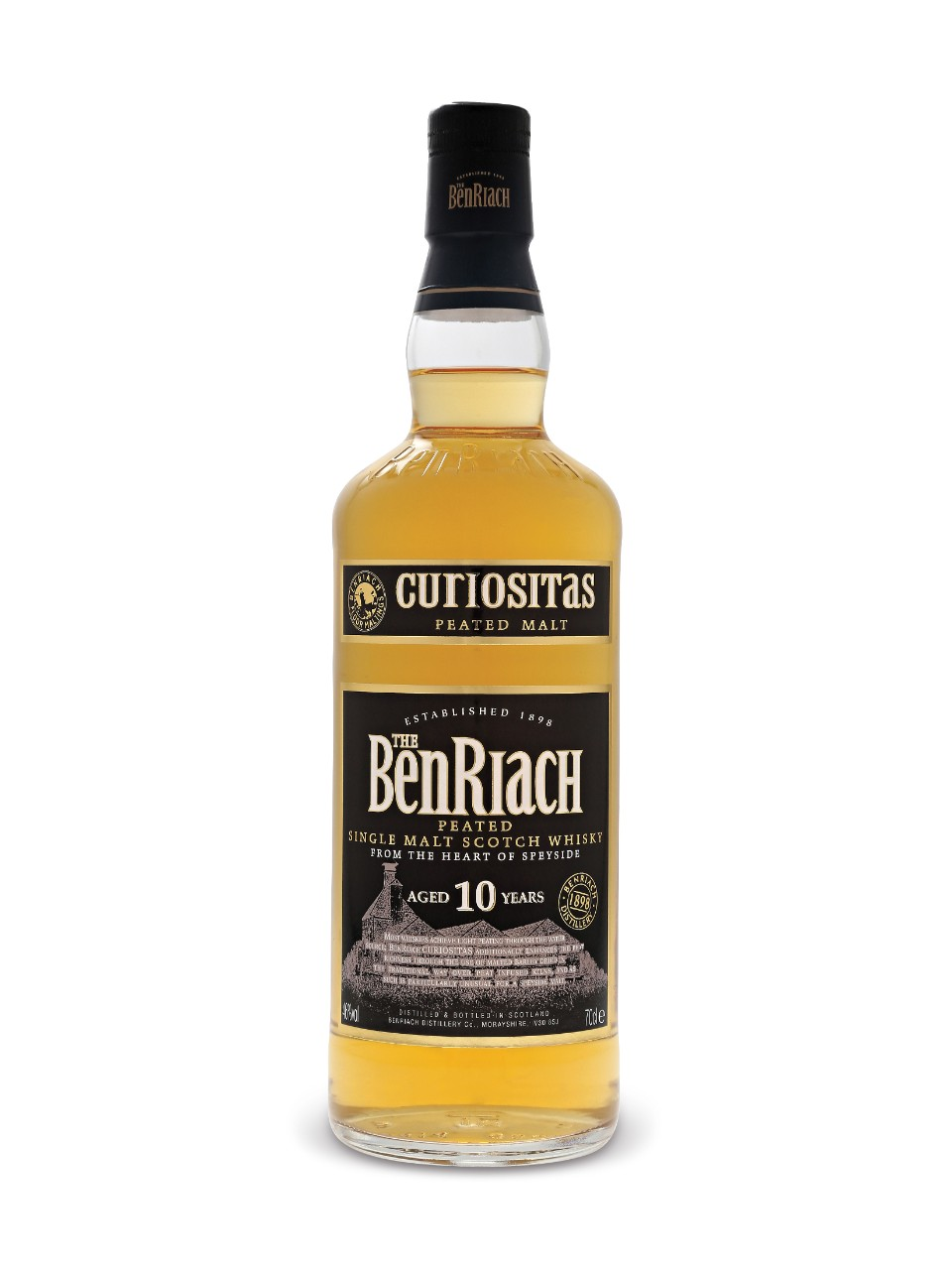 Image for The Benriach Distillery Curiositas Peated 10 Year Old Single Malt Scotch Whisky from LCBO