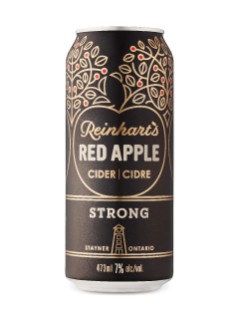 Reinhart's Red Apple Strong Cider