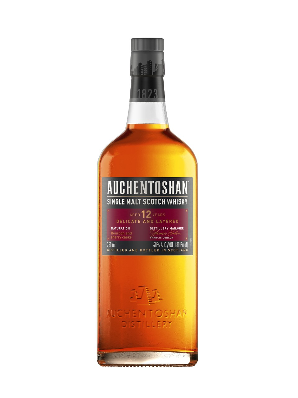 Image for Auchentoshan 12 Year Old Single Malt Scotch Whisky from LCBO