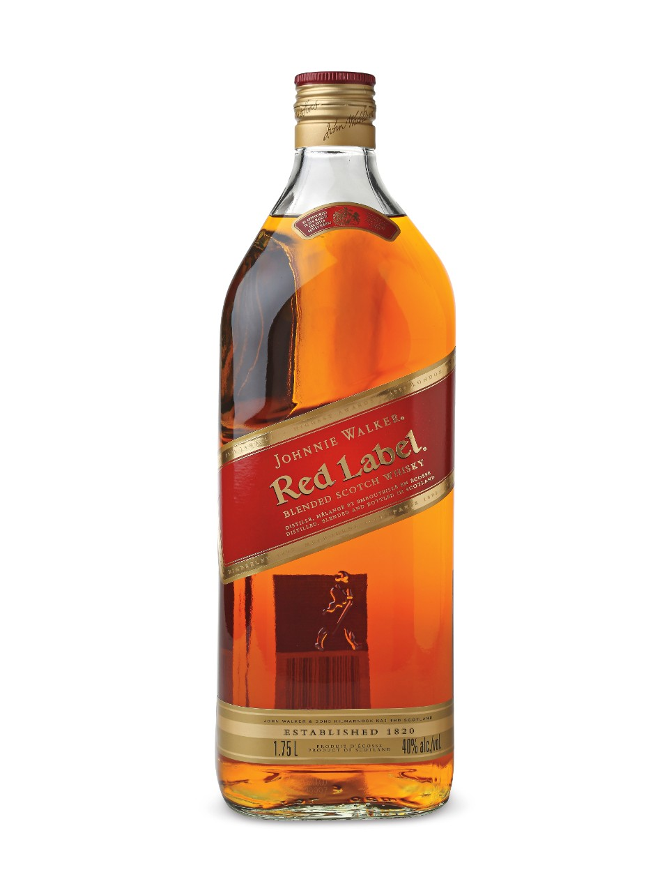 Image for Johnnie Walker Red Label Scotch Whisky from LCBO
