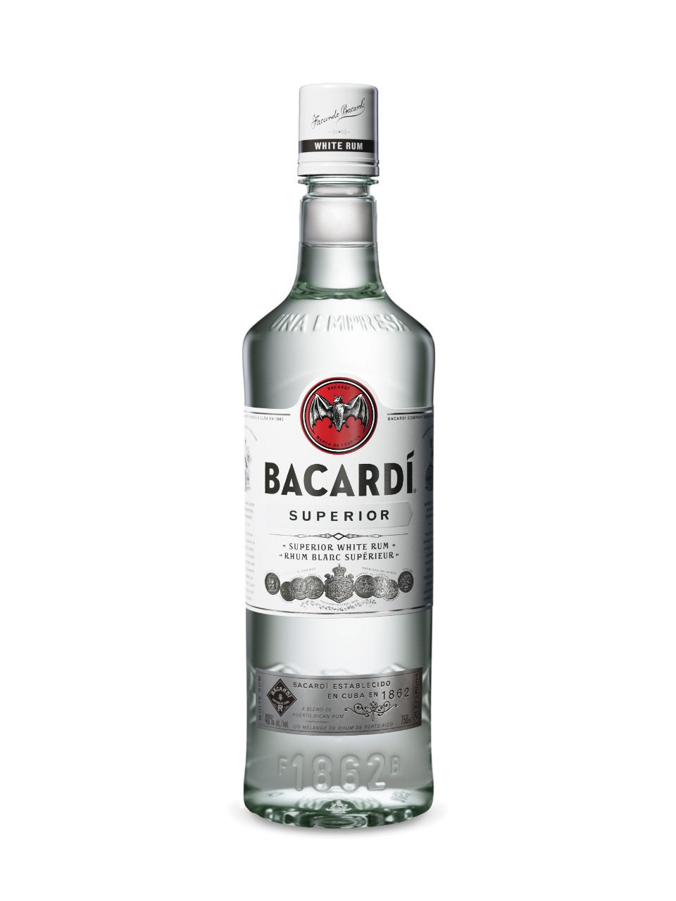 Image for Bacardi Superior White Rum (PET) from LCBO