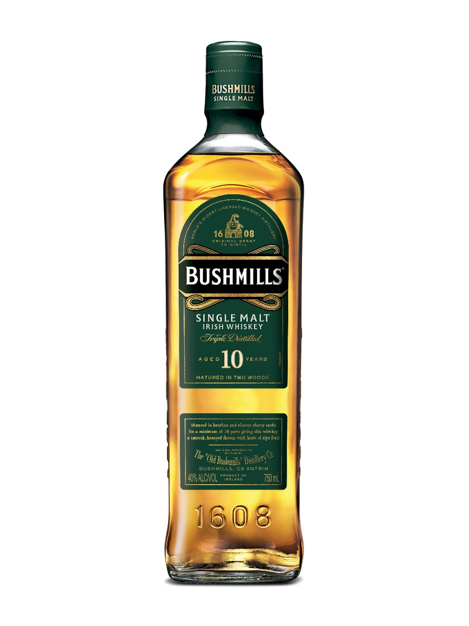 Image for Bushmills Malt 10 Year Old Irish Whiskey from LCBO