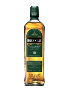 Whiskey irlandais Single Malt Bushmills 10 ans d'âge