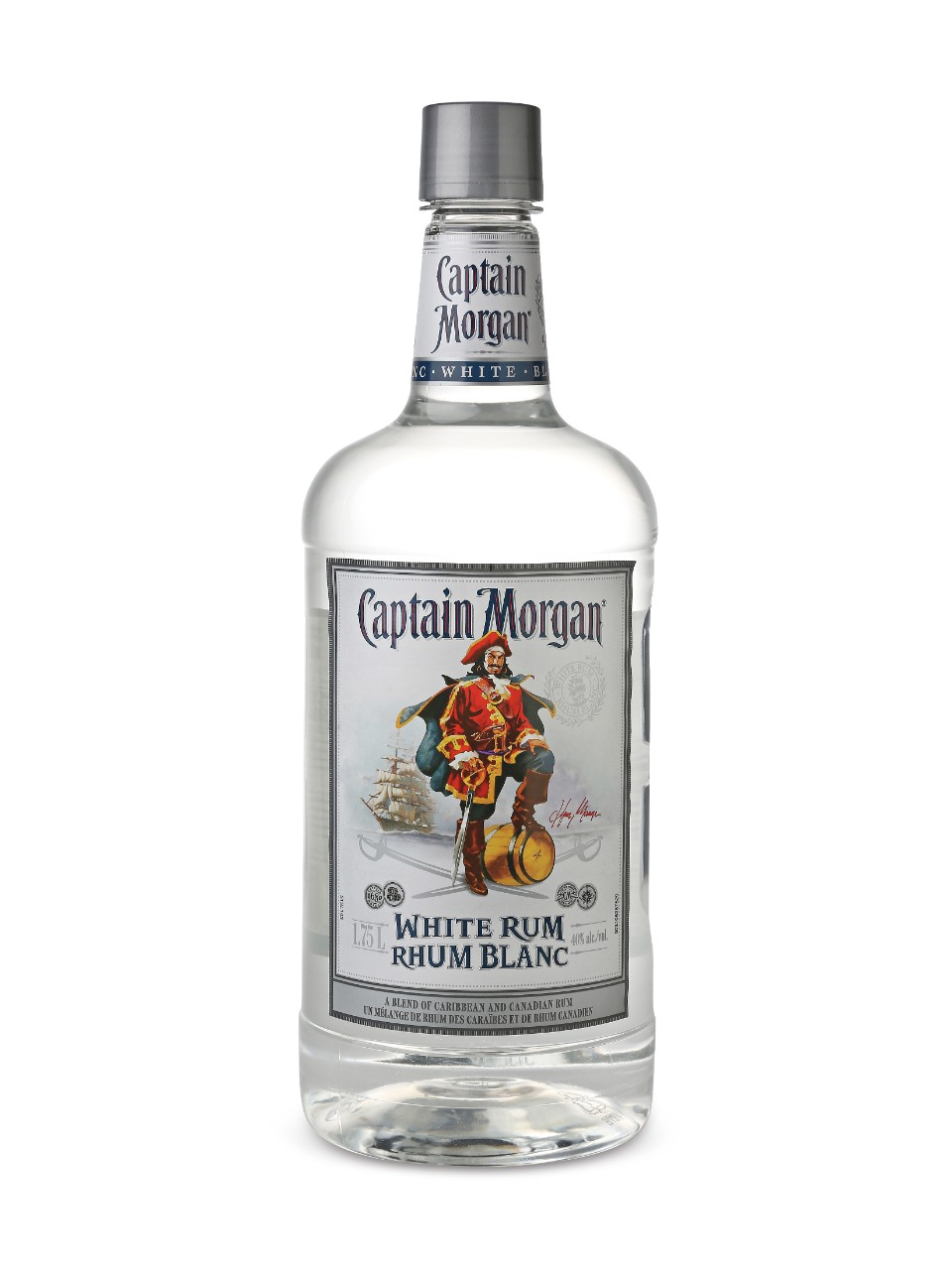 Captain Morgan White Rum (PET)