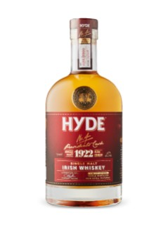 1922 Hyde Rum Cask Finish Irish Whiskey