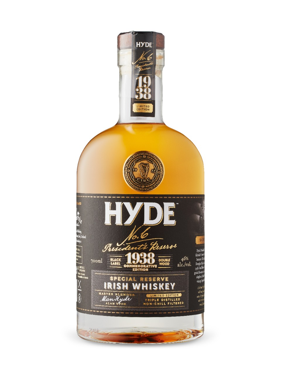 1938 Hyde Sherry Cask Finish Irish Whiskey from LCBO