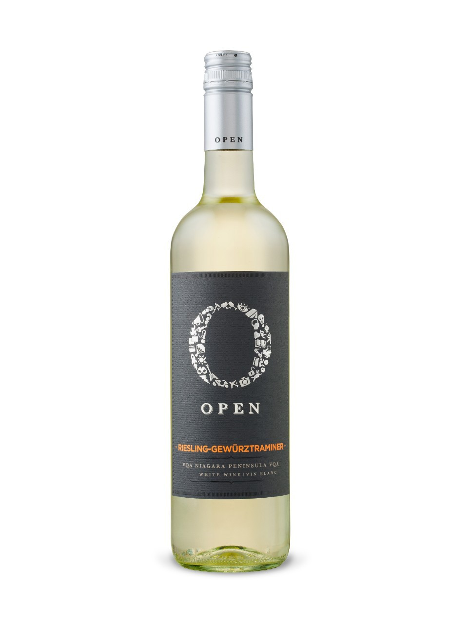 Image for Open Riesling Gewürztraminer VQA from LCBO