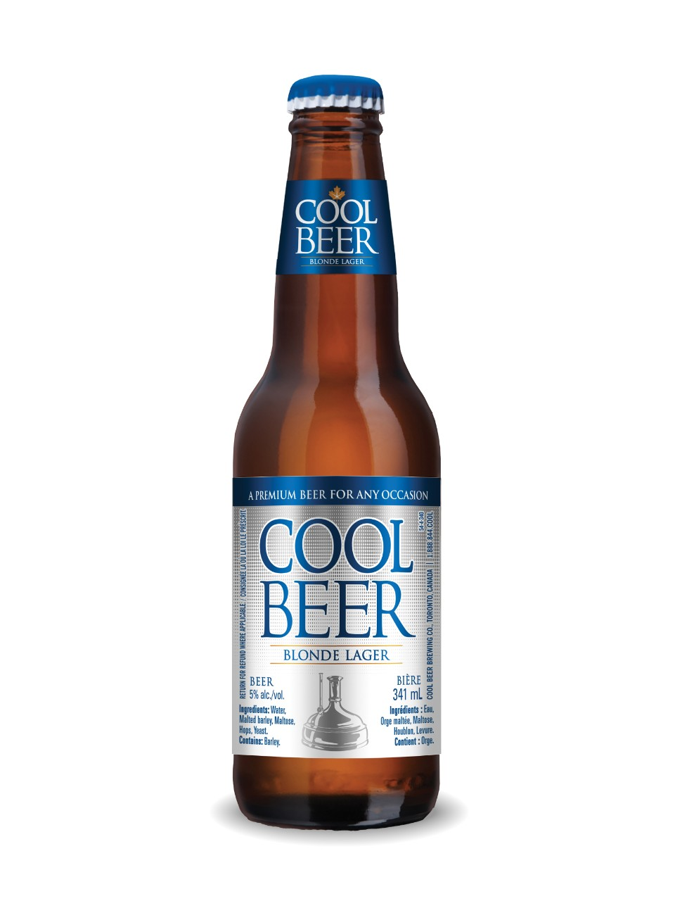 Image for Cool Beer Blonde Lager from LCBO