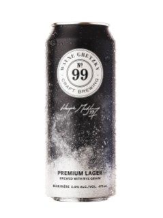No.99 Premium Lager - Wayne Gretzky Craft Brewing