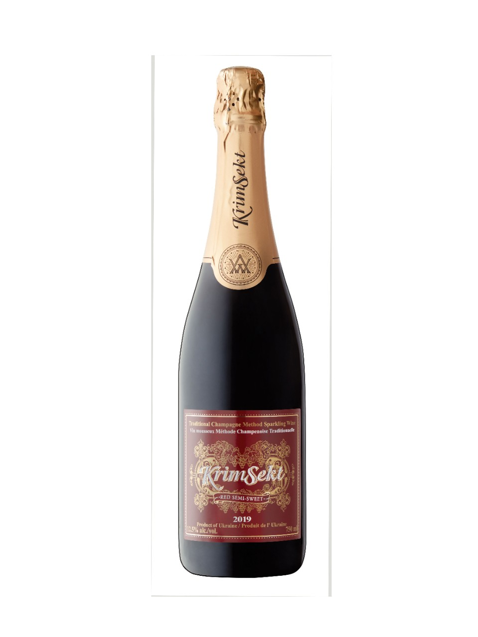Image for KrimSekt Semi-Sweet Red Sparkling 2013 from LCBO