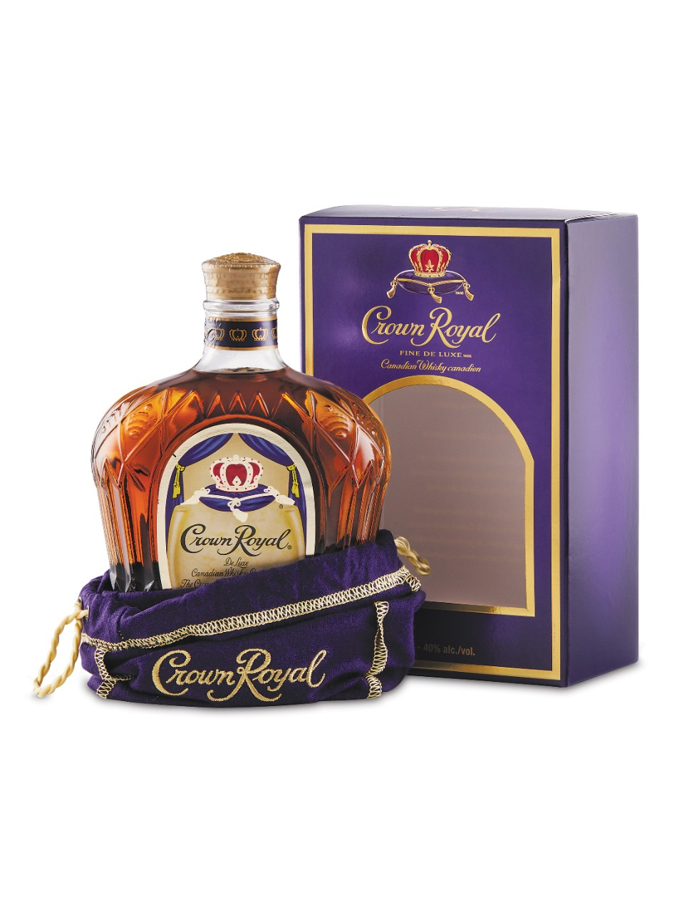 Crown Royal Whisky With Bag Gift Box