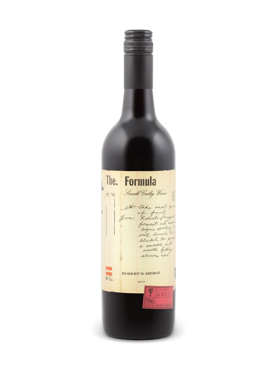 Image for Small Gully The Formula Robert's Shiraz from LCBO