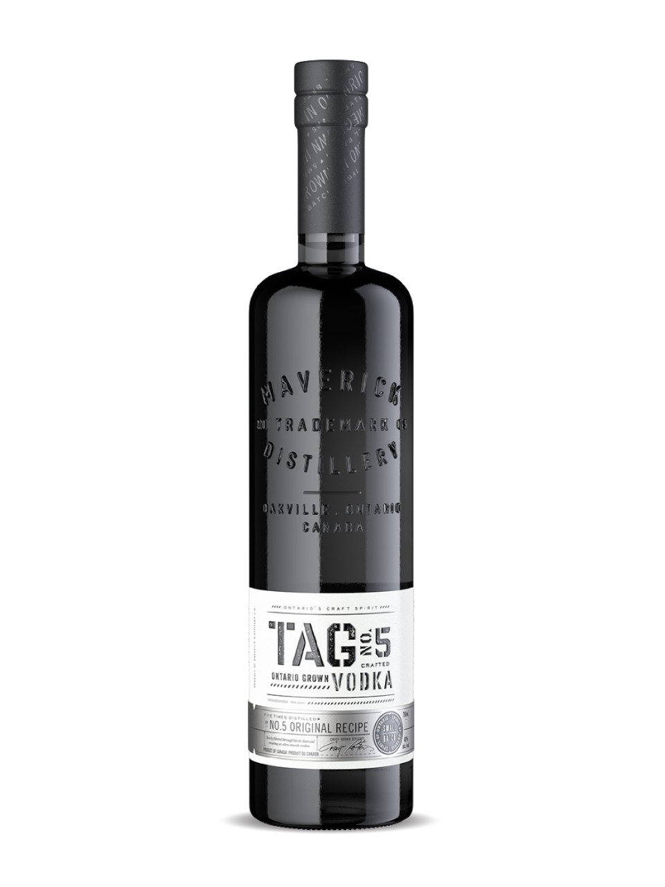 Image for Tag No. 5 Vodka from LCBO
