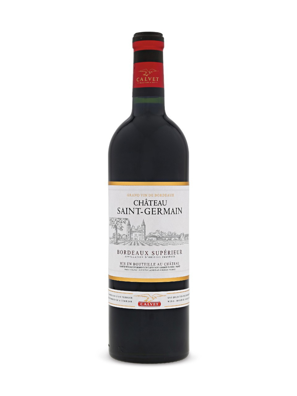 Image for Chateau Saint-Germain Bordeaux Superieur AOC from LCBO