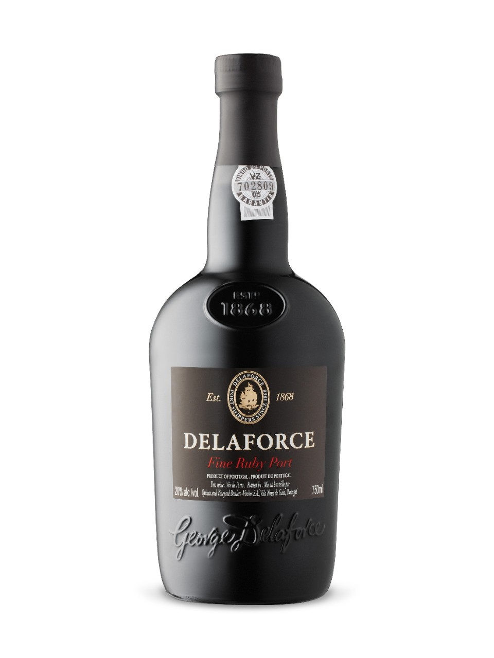 Image for Delaforce Fine Ruby Port from LCBO