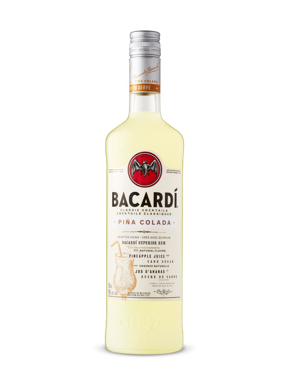 Bacardi Pina Colada Cocktail from LCBO
