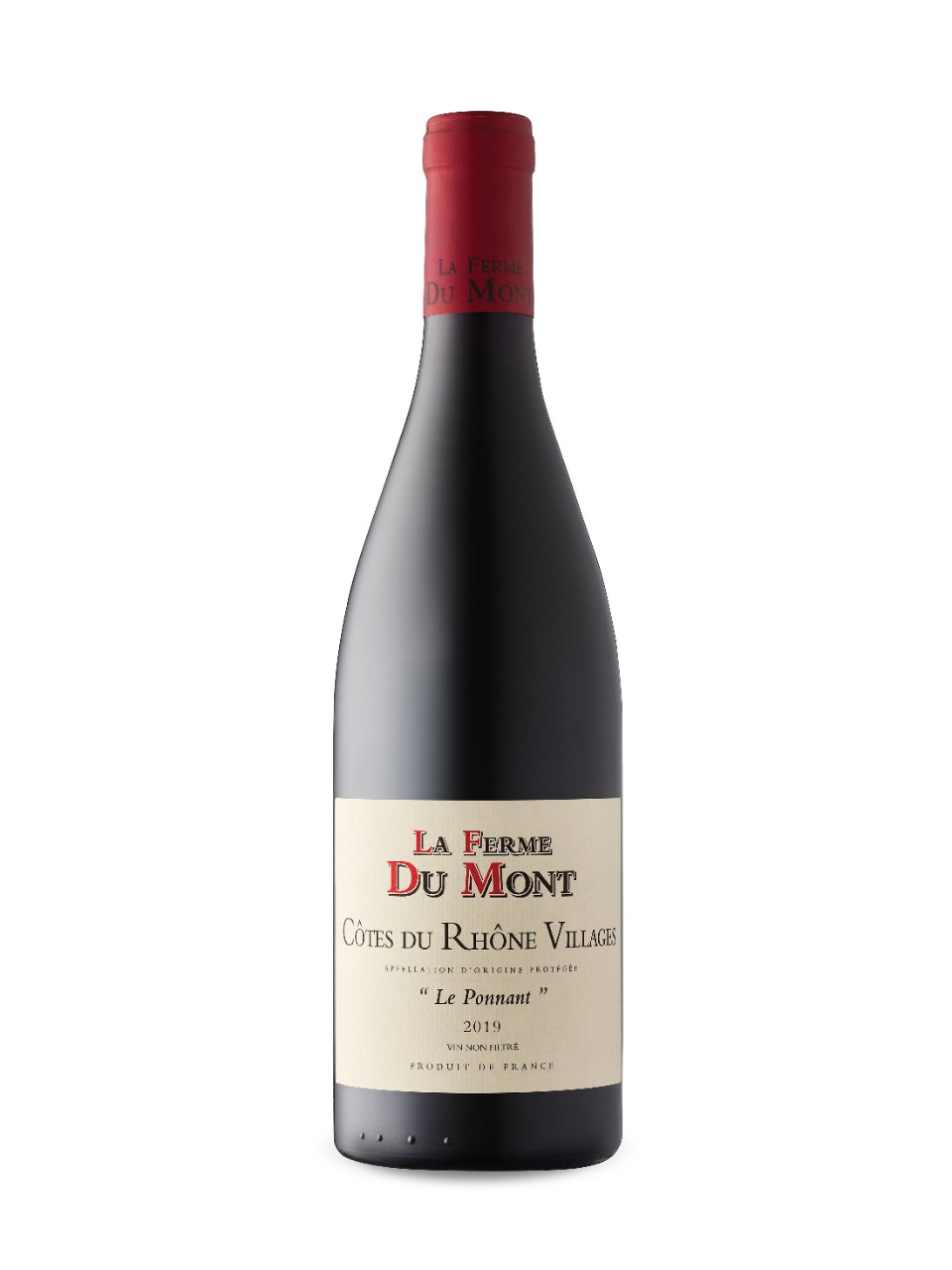 Image for La Ferme du Mont Le Ponnant Côtes du Rhône-Villages 2017 from LCBO