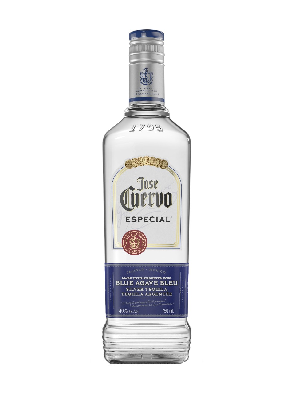 Image for Jose Cuervo Especial Silver Tequila from LCBO