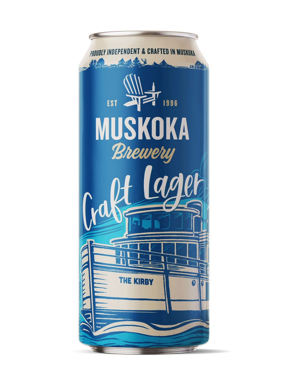Image for Muskoka Craft Lager from LCBO