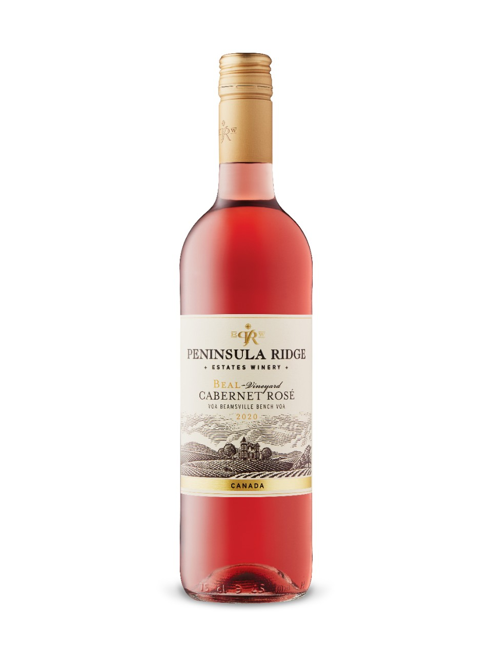 Cabernet Rosé Beal Vineyard Peninsula Ridge 2015