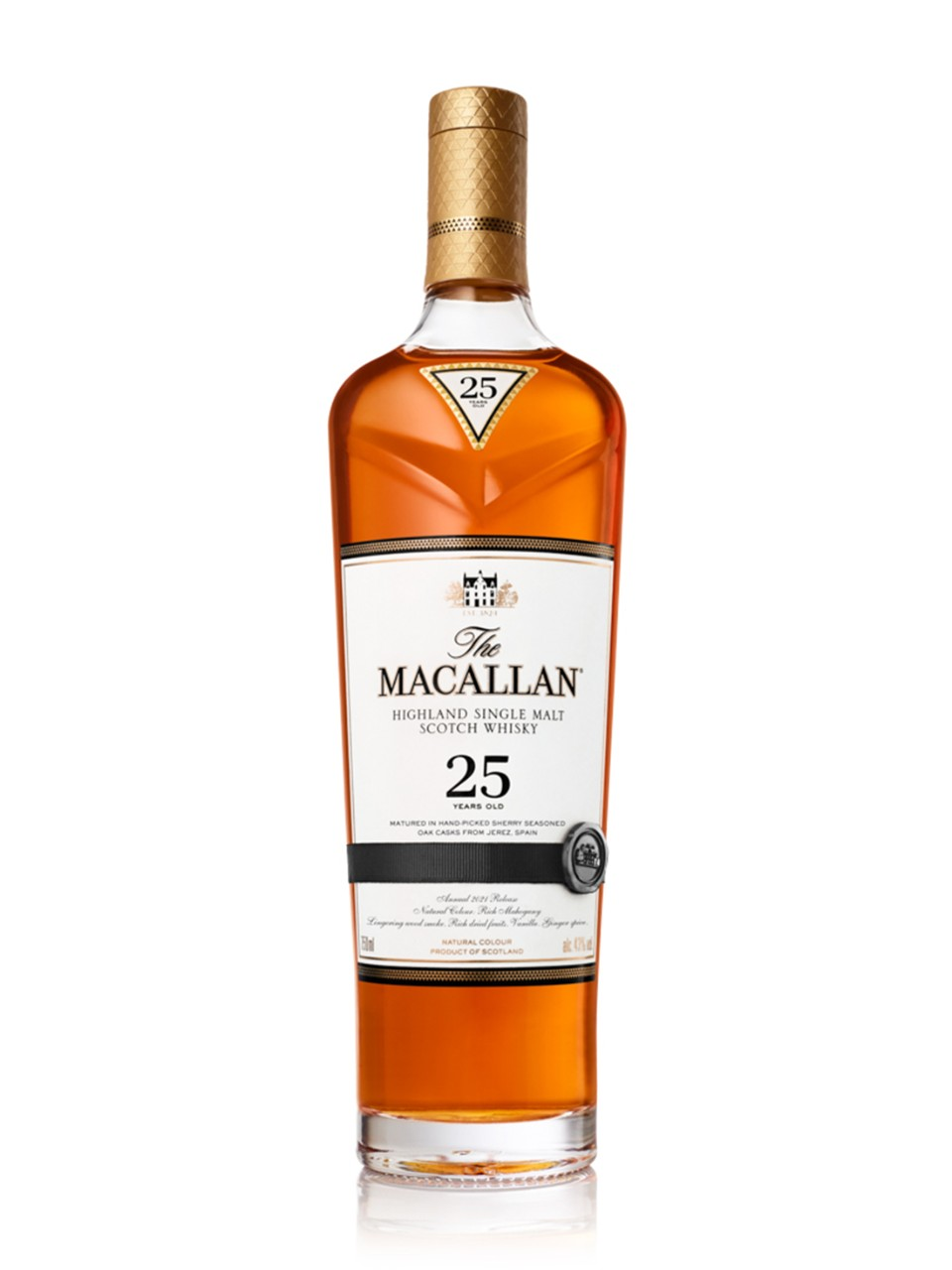 Image for The Macallan Sherry Oak 25-Year-Old Highland Single Malt Scotch Whisky from LCBO