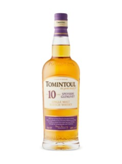 Tomintoul 10 Year Old Speyside Glenlivet Single Malt Scotch Whisky