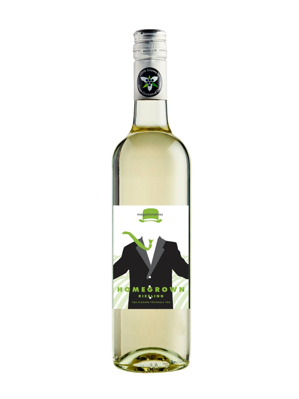 Image for Megalomaniac Homegrown Riesling VQA from LCBO