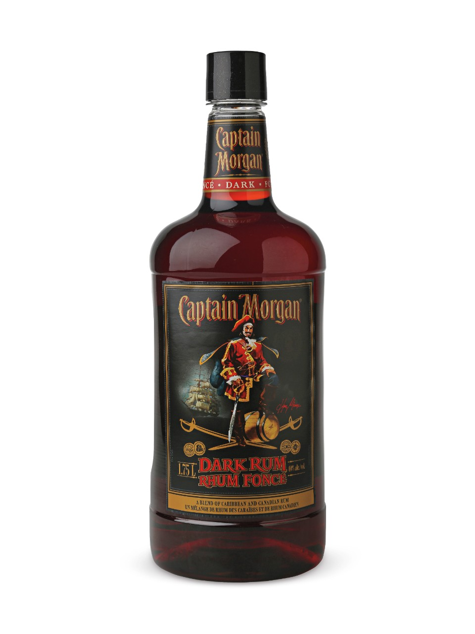 Image for Captain Morgan Dark Rum (PET) from LCBO