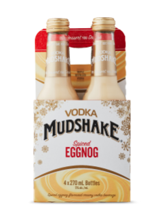 Vodka Mudshake Egg Nog