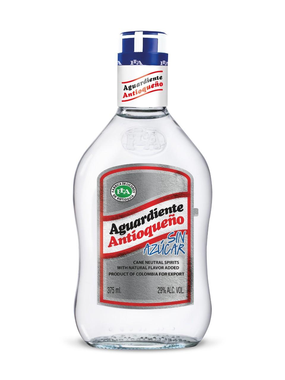 aguardiente  Aguardiente Antioqueño Sin Azúcar   LCBO