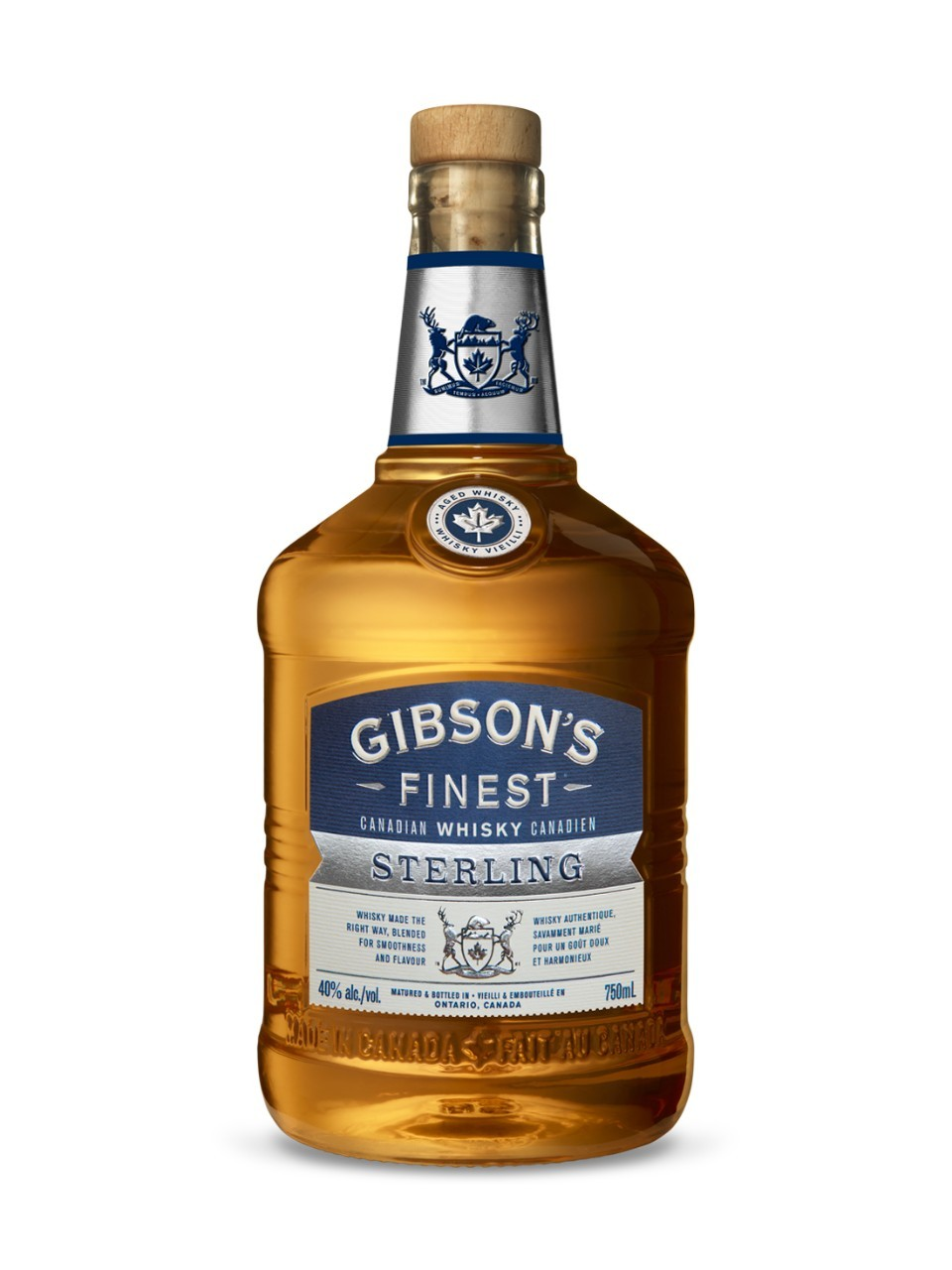 Image for Gibson's Finest Sterling Edition Whisky from LCBO