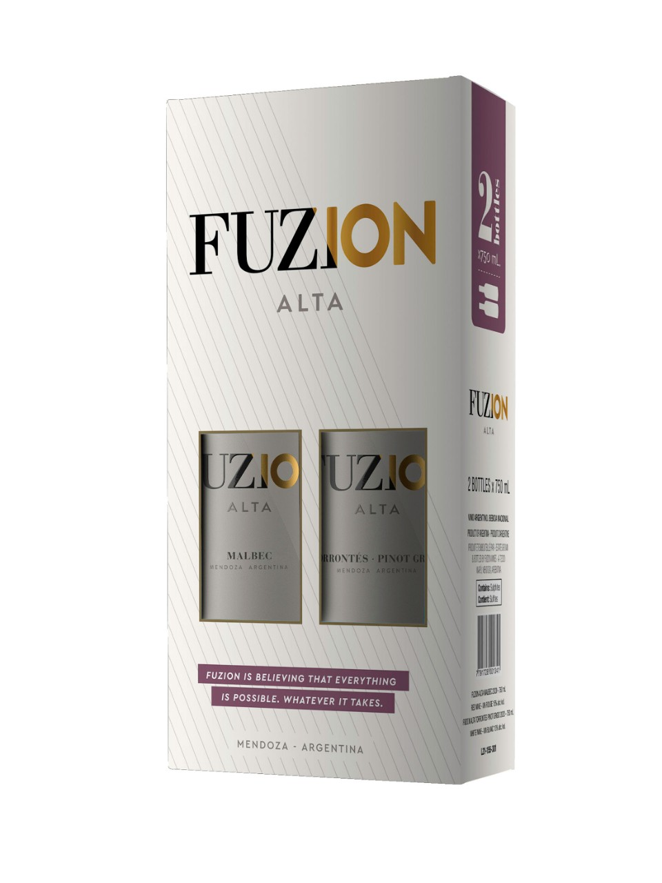 Image for Fuzion Alta Duo Gift Pack 2 x 750mL from LCBO