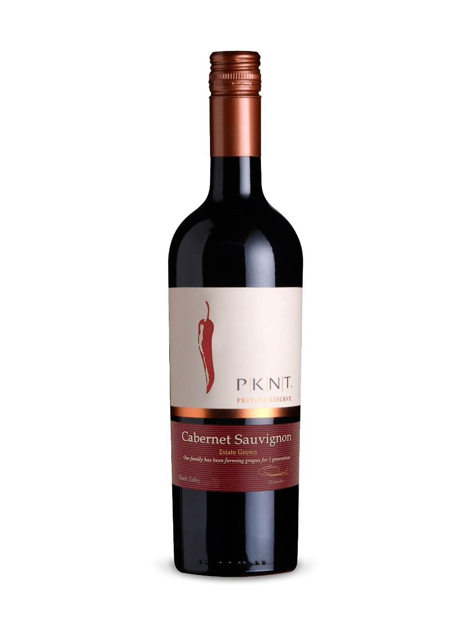 Image for PKNT Cabernet Sauvignon Reserve from LCBO