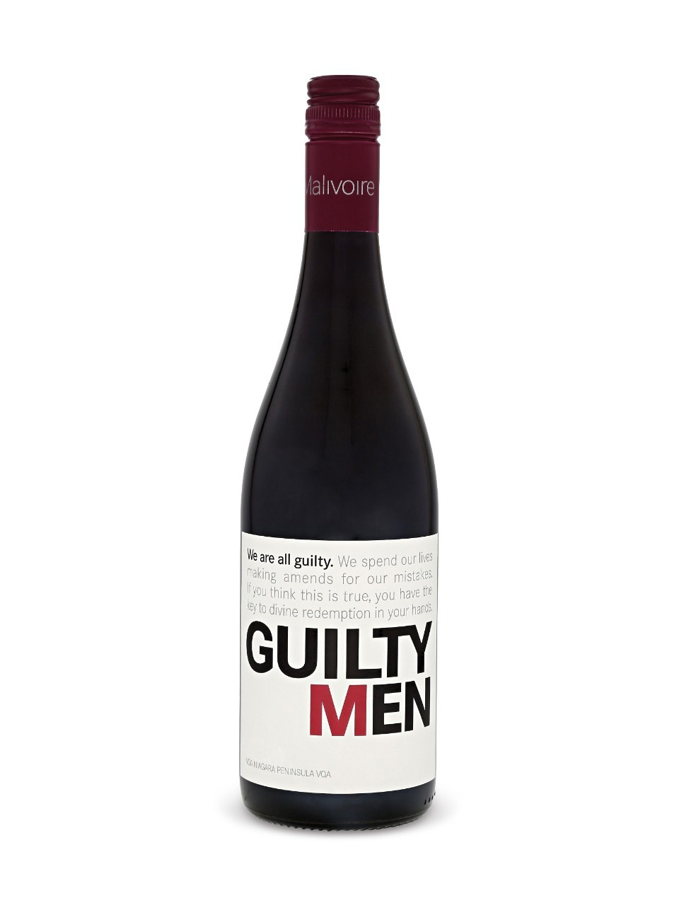 Guilty Men Malivoire Guilty Men Red Vqa