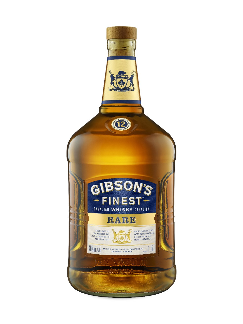 Gibson's Finest Rare 12 Year Old Whisky from LCBO