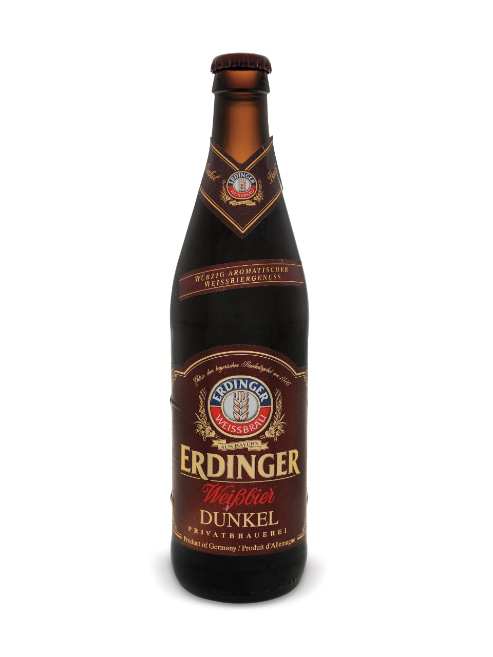 Image for Erdinger Dunkel Weissbier from LCBO