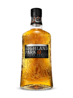 Whisky écossais Single Malt Highland Park 12 ans d'âge