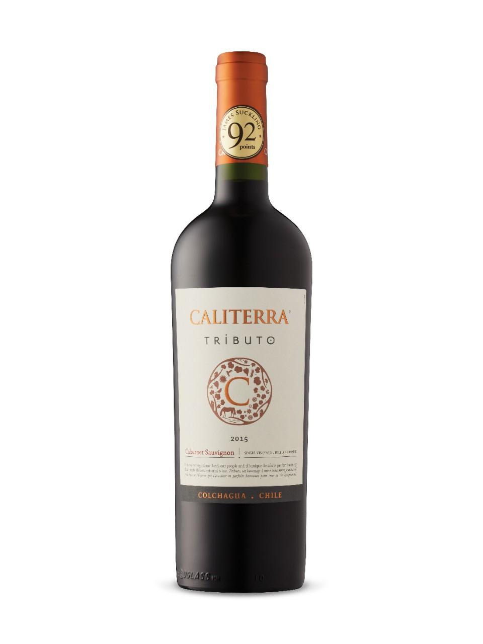Caliterra Tributo Cabernet Sauvignon 2016 Lcbo
