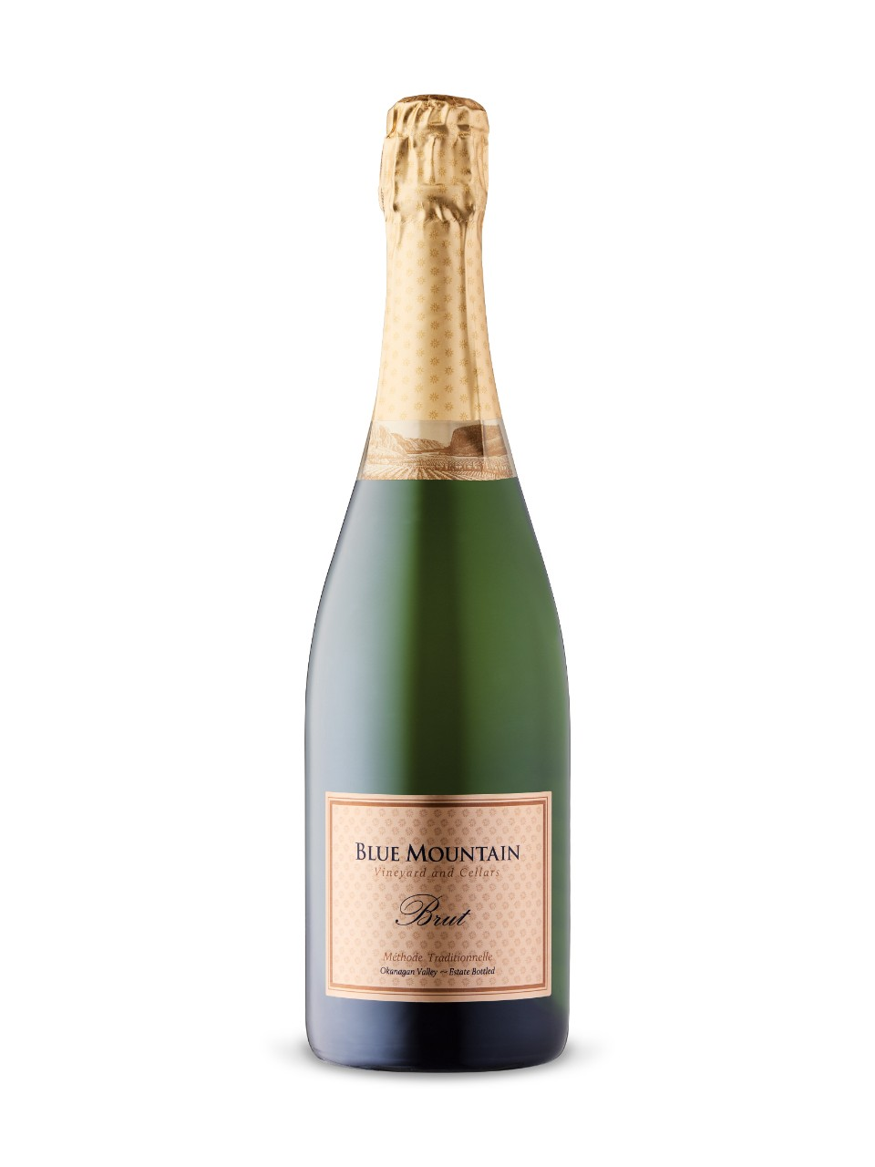 Image for Blue Mountain Gold Label Brut Sparkling from LCBO